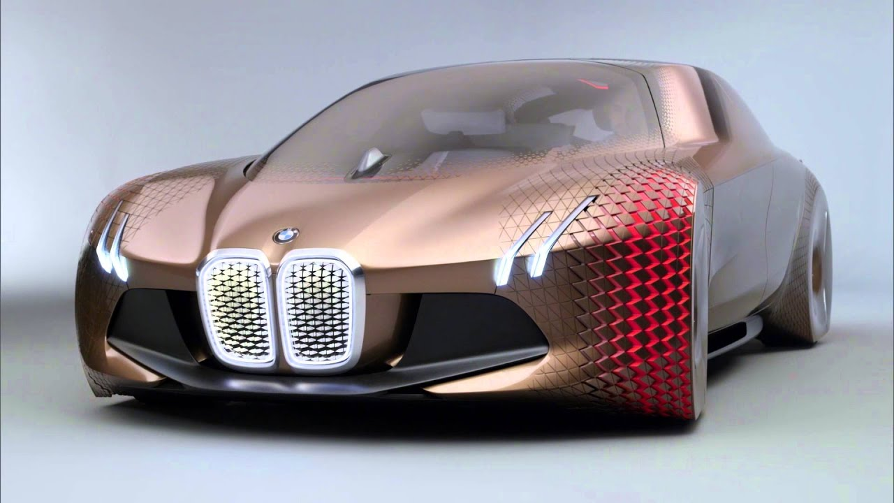 bmw reveals the car of the future vision next 100 concept youtube. Black Bedroom Furniture Sets. Home Design Ideas