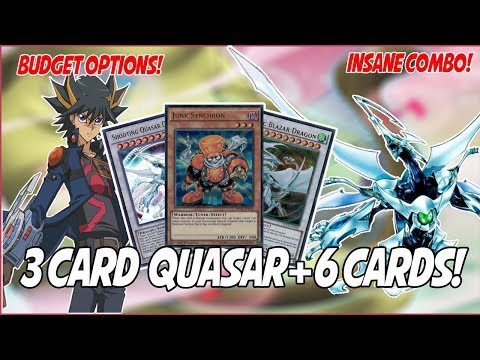 YuGiOh *COMPETITIVE* In-Depth Synchro Quasar Deck Profile! |3 Card Quasar +6 Combo!| (Sept 2018)