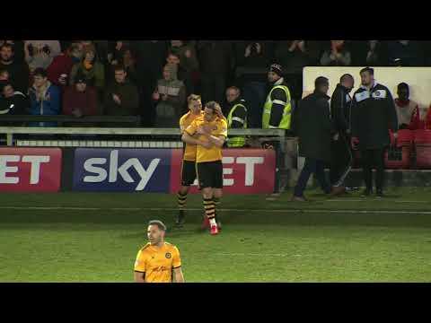 Newport County 3 - 3 Carlisle United - match highlights