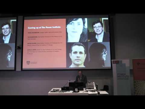 Power Lecture: Hal Foster on 'Contemporary Art and Mimetic E