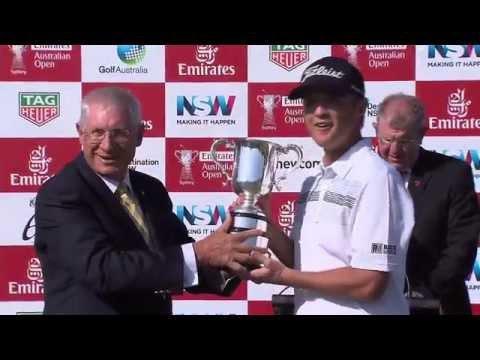 Final round highlights 2015 Emirates Australian Open golf