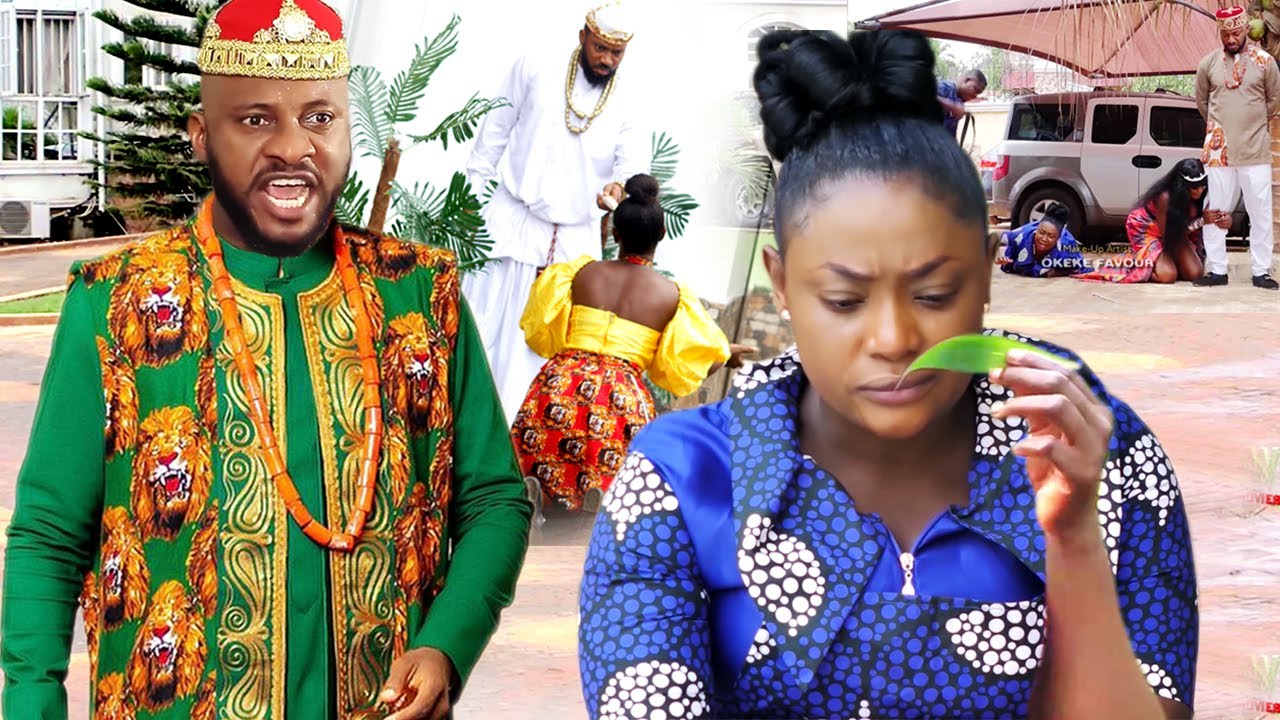 """Download How The Beautiful Palace Seer Won The Heart Of The Arrogant Prince """"New Movie'' 3&4-Yul Edochie 2021"""