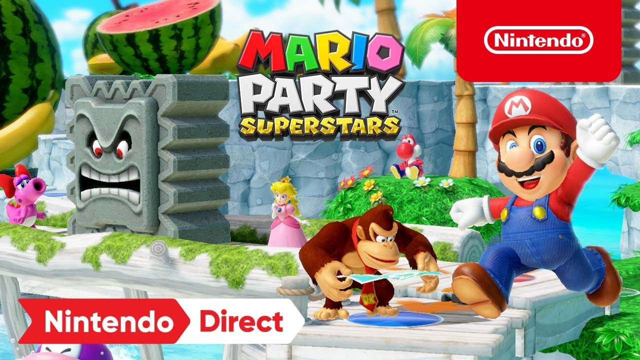Download Three More Boards Revealed in Mario Party Superstars! – Nintendo Switch – Nintendo Direct 9.23.21