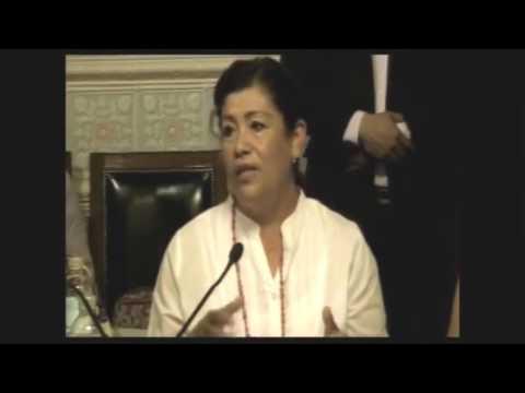 """Los necesitamos vendiendo nopalitos"""", diputada del PRI a indígenas que piden educación y empleo."""