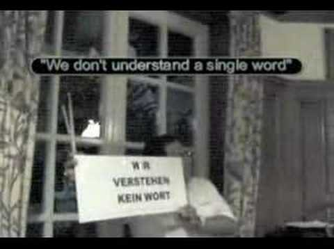 Peter Buhr - We don't understand a word