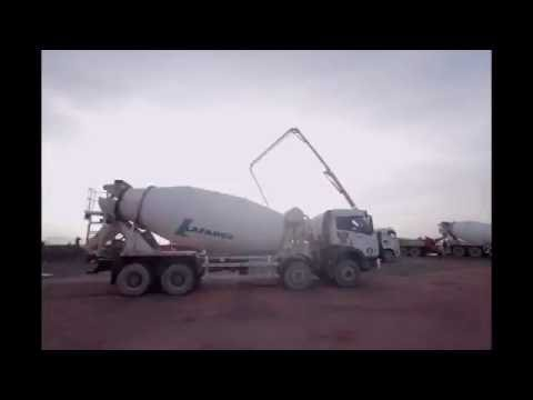ICE Petroleum Concrete Pouring at RAPID