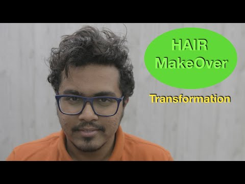 Hair Makeover Got Him To The Next Level ♥️ Mens Hair | Natural Hair | Curly To Straight Hair