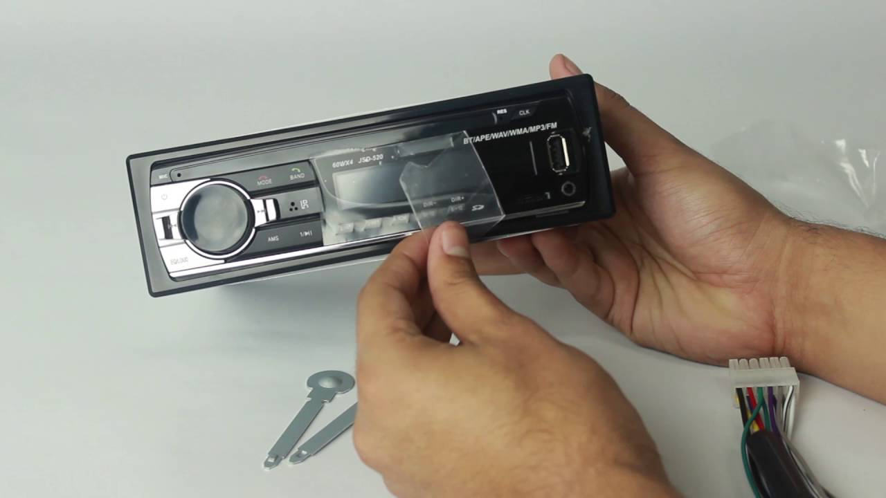 Unboxing Jsd 520 Bluetooth Car Audio Stereo Mp3 Player Radio Youtube Tape Mobil Usb Fm
