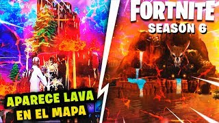 BALSA BUTTON WILL BE A FORTNITE VOLVOLY *APPEARS LAVA ON THE MAP* SEASON 6 CUBE SECRETS