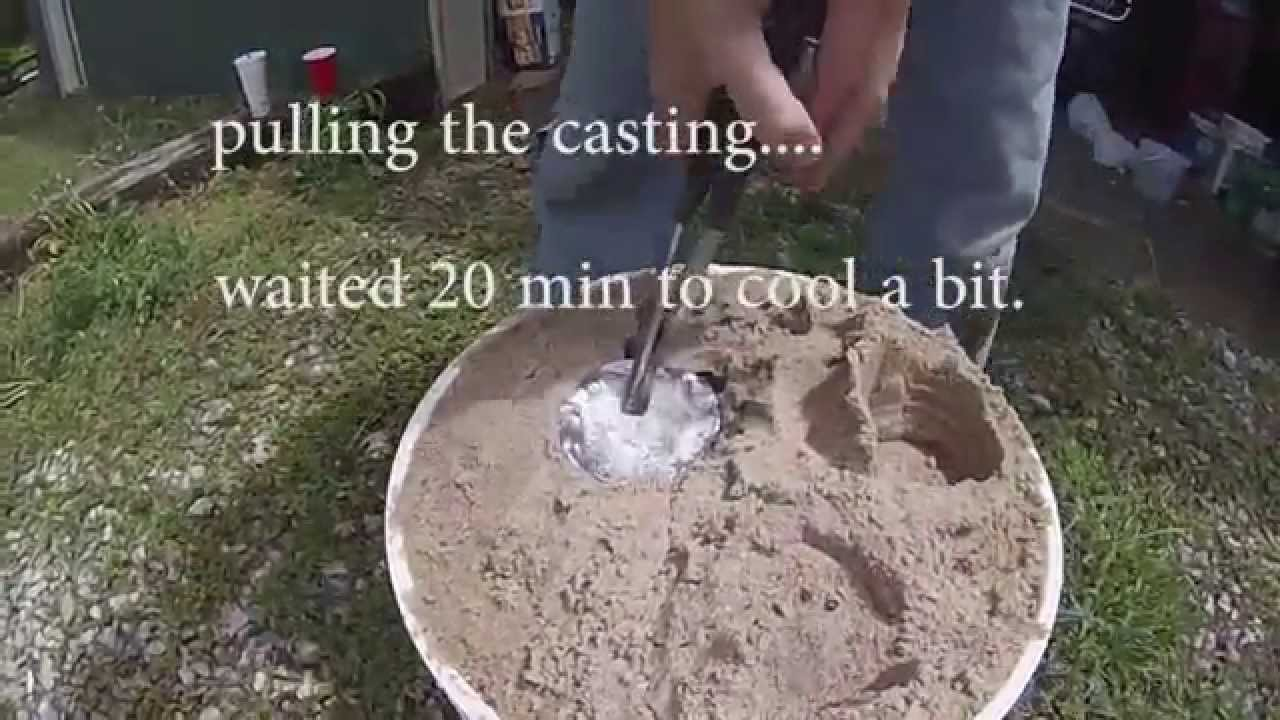 Casting Aluminum At Home Diy Furnace