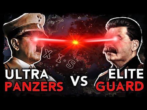 [HoI4] Ultra Panzers vs Elite Guard [WW2 AI Timelapse] |
