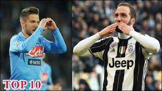 TOP 10 Classifica Marcatori Serie A 2016/17