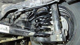 Замена задних пружин Chevrolet Aveo