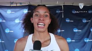 Colorado's Gabby Scott breaks down school-record run in 400-meter hurdles at NCAA Championships