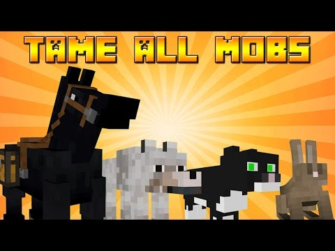 How to Tame Rabbits, Ocelots, Horses & Wolves in Minecraft