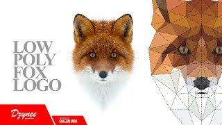 Illustrator Tutorials | Low Poly Fox Logo
