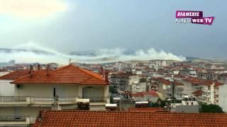 Τοξικό νέφος στο Κιλκίς-eidisis.gr webTV