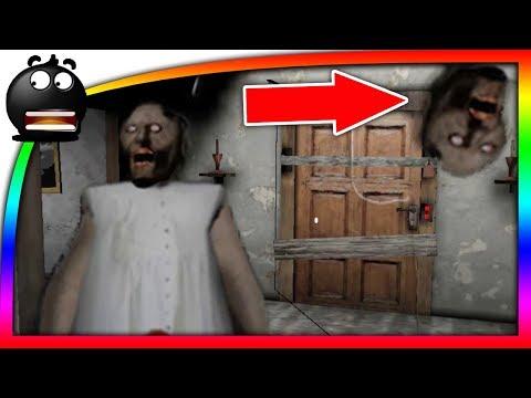 ПОБЕГ от БАБУЛИ GRANNY #1 ОТКРЫЛ ВСЕ ДВЕРИ Гренни Horror Mobile Game и злая бабуля