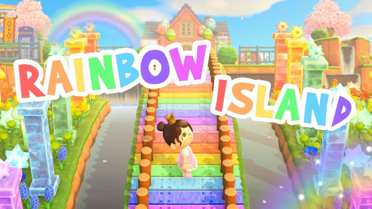 BREATHTAKING Rainbow Island! 🌈 *Irisalia Dream Tour