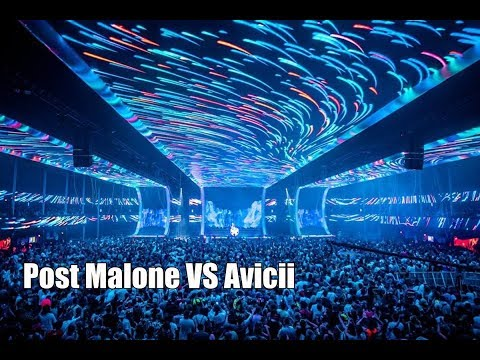 Post Malone - I Fall Apart (Avicii and Alesso Remix) - Tomorrowland 2018 Mp3