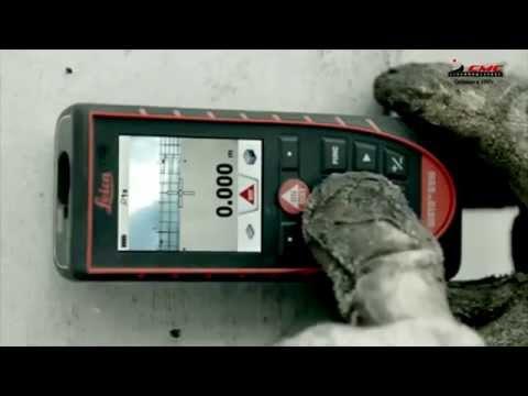Видео Лазерный дальномер leica digital camera
