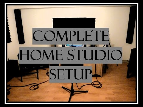 What To Buy To Start Your Own Home Studio