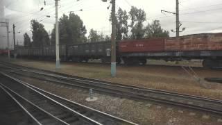 Вид из окна поезда №284 Сочи — Москва(, 2013-08-22T18:42:52.000Z)