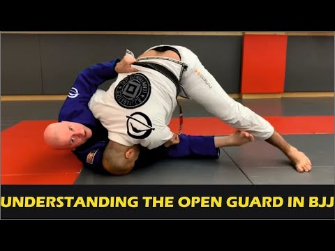 Understanding The Open Guard In BJJ by John Danaher