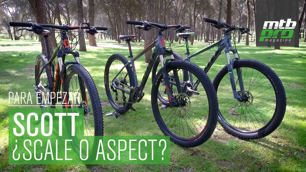 28cbe834b98 Para empezar: ¿Scott Scale o Aspect? - YouTube