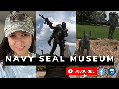 Exploring The National Navy UDT-SEAL Museum In Ft Pierce, Florida!