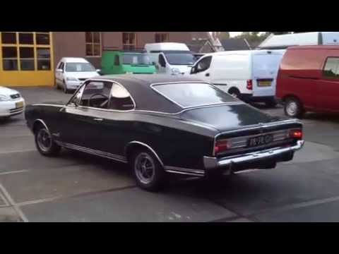 opel commodore gs coupe 1969 youtube. Black Bedroom Furniture Sets. Home Design Ideas