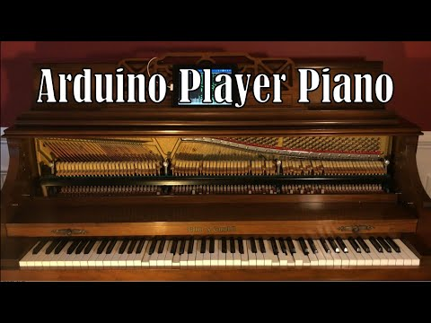 Arduino MIDI Player Piano DIY Build Showcase