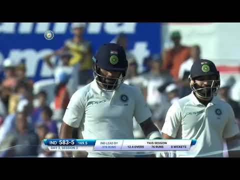 India vs Sri Lanka 2nd Test 2017 Day 3 Full Highlights HD