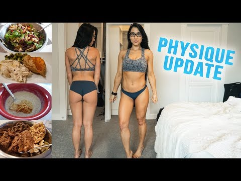 Physique Update   Full Day of Lean Bulking (How to Build Muscle Over Fat)