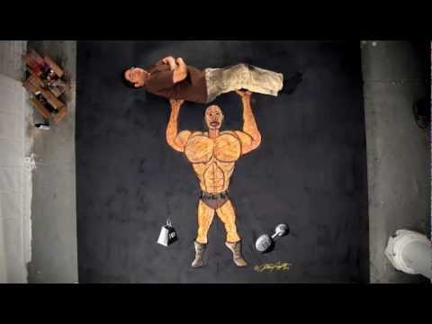 Anthony Cappetto: 'Health' Chalk Art Intro