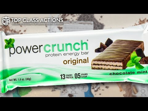Lawsuit Says Protein Bars Are Mislabeled And Don't Contain Advertised Ingredients
