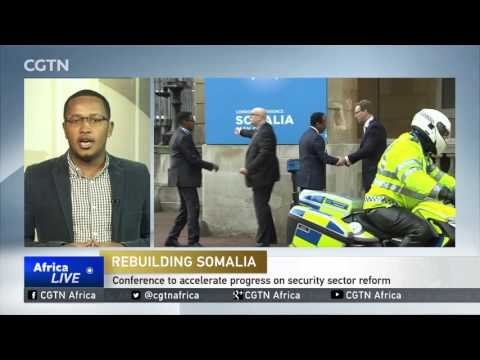World leaders arrive in London for Somalia conference