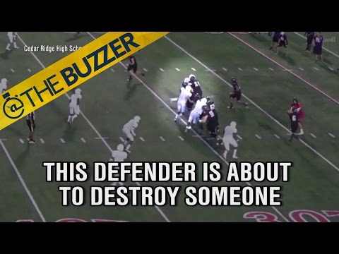 SUPLEX CITY! High school lineman must watch the WWE | @TheBuzzer | FOX SPORTS