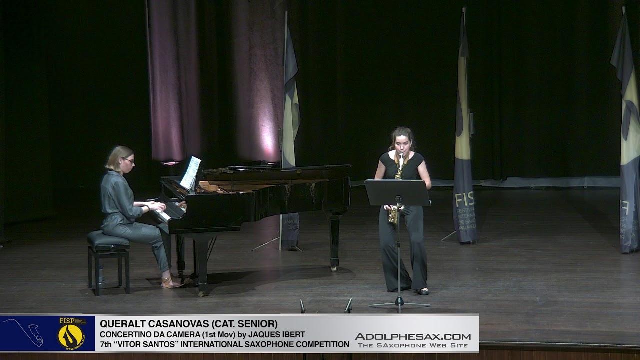 FIS Palmela 2019 - Queralt Casanovas - Concertino da Camera by Jaques Ibert 1st Mov