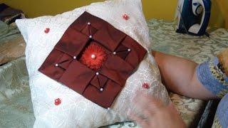 Декоративная подушка буфы, по схеме квадрат5.