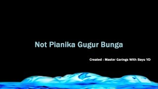 Not Pianika Gugur Bunga