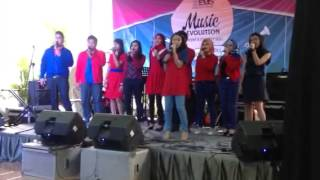 Adult choir elfa music school griya mas - timeless cover in