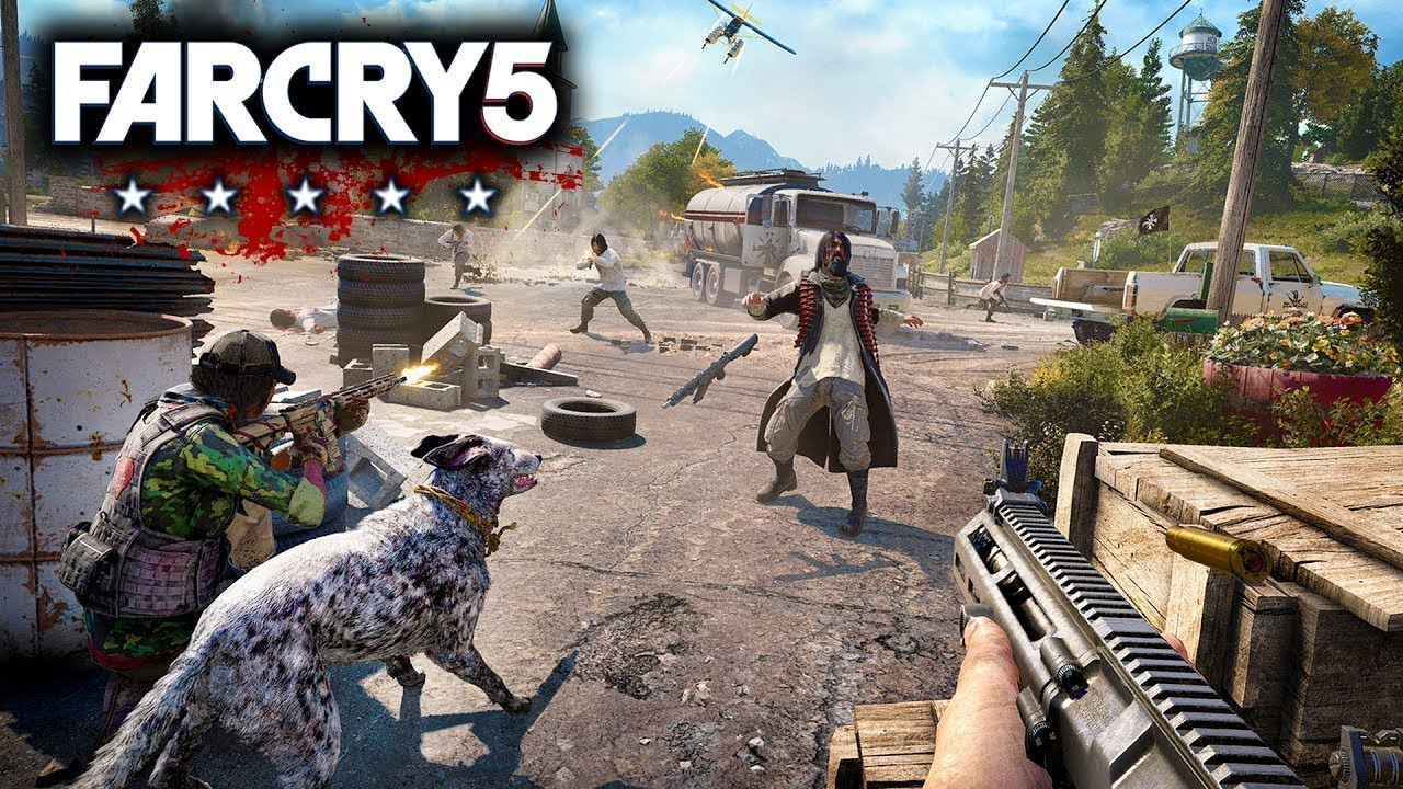 Pubg Wallpaper Ps4: FAR CRY 5 Gameplay Demo (PS4 XBOX ONE PC)