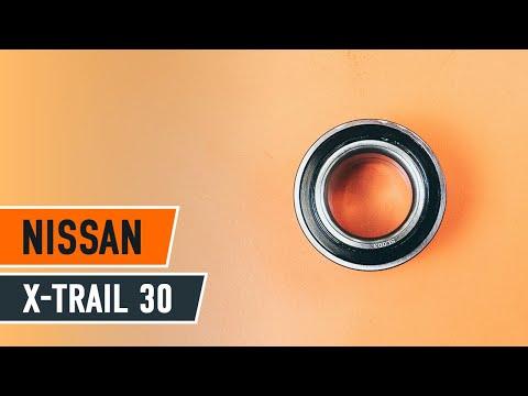 Sådan Udskifter Du Hjulleje Foran På NISSAN X-TRAIL T30 GUIDE | AUTODOC