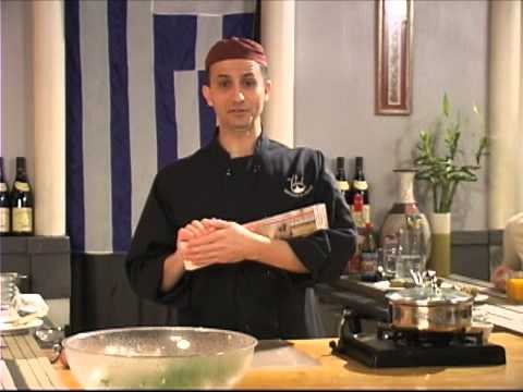 Chef Sabi's Cooking the Casbah - Greek for a Day