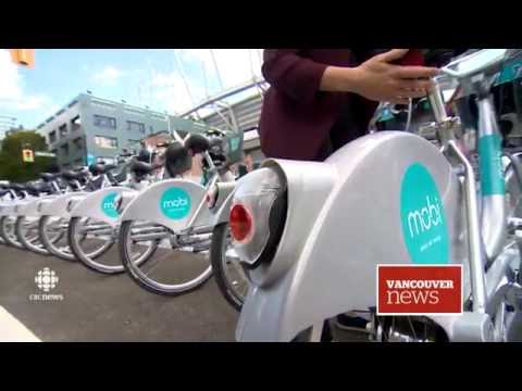 CBC News: Vancouver's Bike Sharing Program Launches