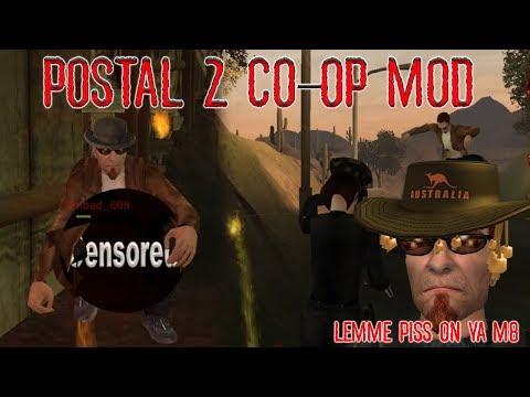 An Aussie & a Brit play Postal 2 Co Op Mod