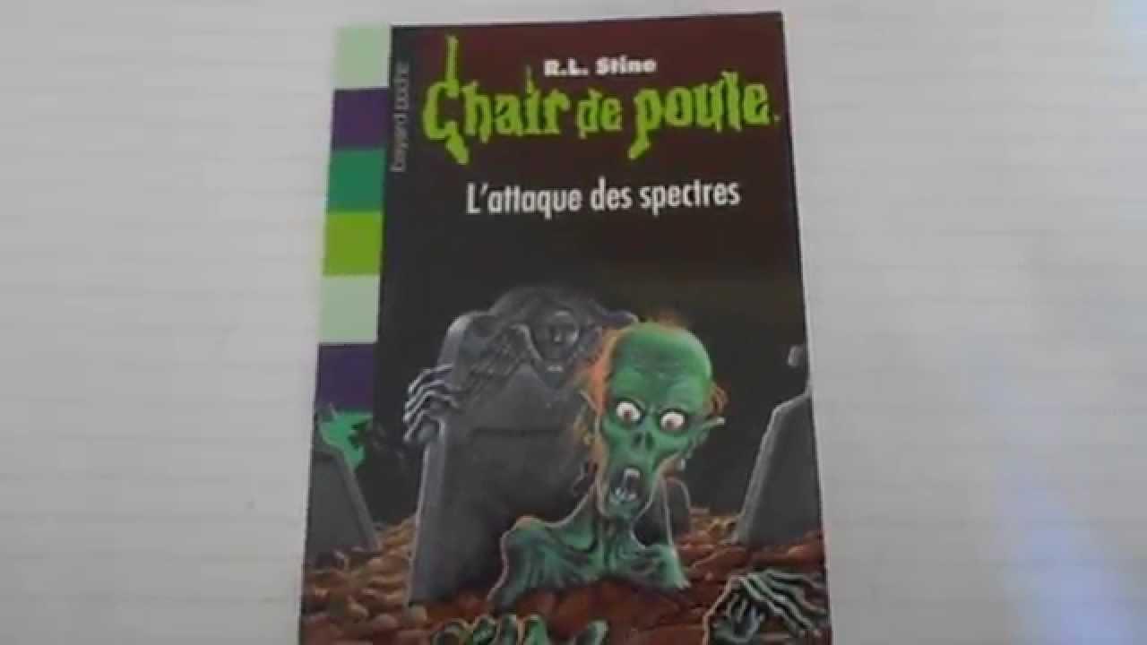 Presentation Livre Chaire De Poule L Attaque Des Spectres