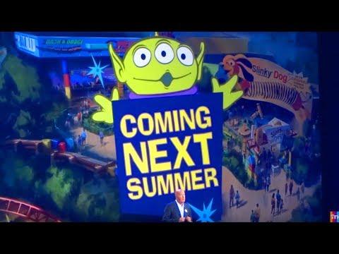 Toy Story Land presentation for Walt Disney World - D23 Expo 2017