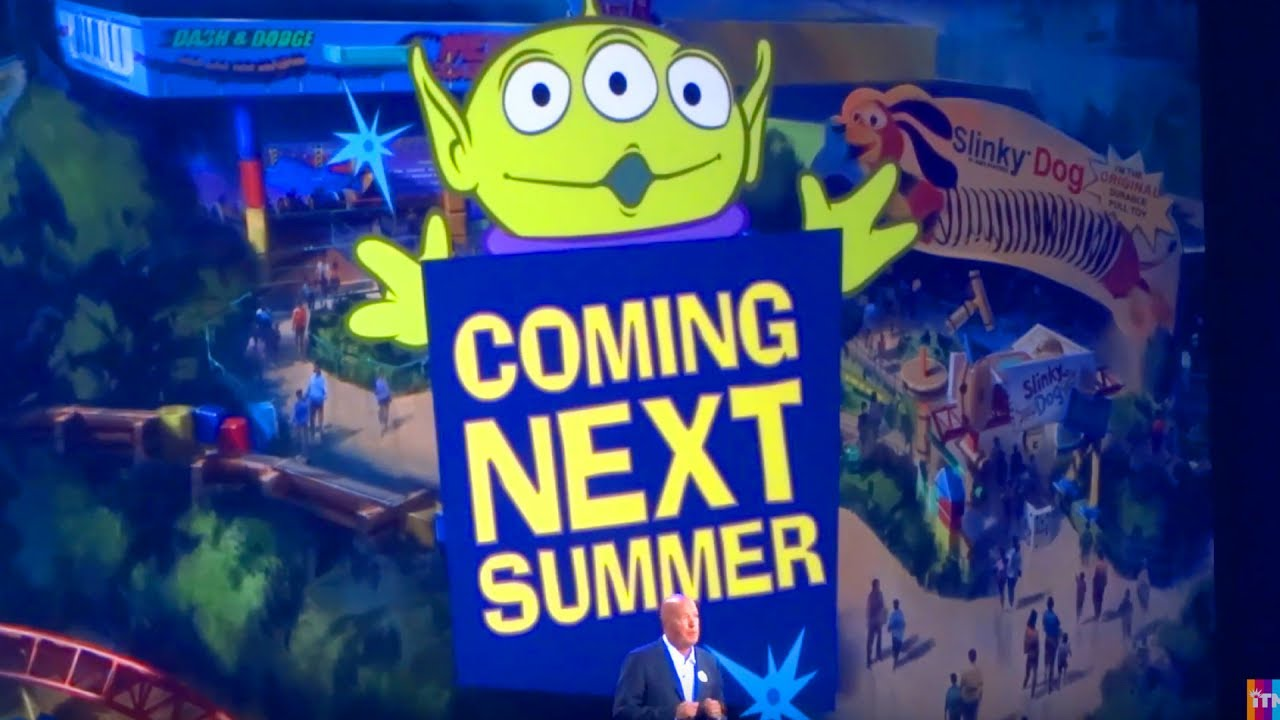 Toy Story Land Presentation For Walt Disney World D23 Expo 2017